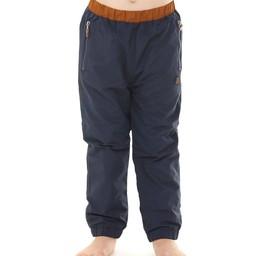 L&P L&P - Pantalons D'extérieur Doublé en Polar/Polar Lined Outwear Pants, Bleu et Caramel/Blue and Caramel