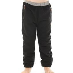 L&P L&P - Pantalons D'extérieur Doublé en Polar/Polar Lined Outwear Pants, Noir et Gris/Black and Grey