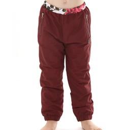 L&P L&P - Pantalons D'extérieur Doublé en Polar/Polar Lined Outwear Pants, Rubis de Nuit/Night Ruby