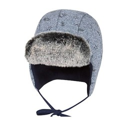 Broel Broel - Tuque Fox/Fox Hat, Bleu Chiné/Heather Bleu