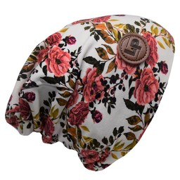 L&P L&P, Boston - Tuque en Coton/Cotton Beanie, Fleurs/Flowers