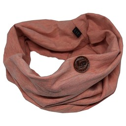 L&P L&P - Foulard de Coton Infinity/Infinity Cotton Scarf, Rose Honey/Honey Rose