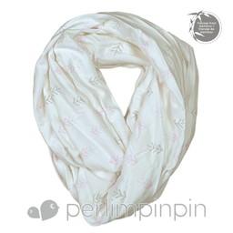 Perlimpinpin Perlimpinpin - Foulard d'Allaitement en Bambou/Bamboo Nursing Scarf, Flèches