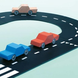Waytoplay Way to Play - Route Flexible Autoroute/Highway Flexible Road, 24 Pièces/Pieces