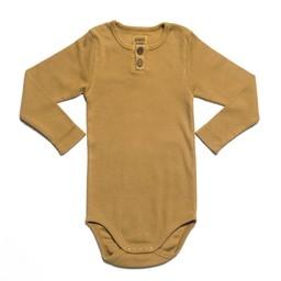 Kidwild Organic Kidwild Organic - Cache-Couche Vintage/Vintage Bodysuit, Ocre/Ochre