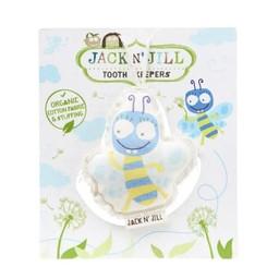 Jack&Jill Jack & Jill - Peluche pour les Dents/Tooth Keeper, Abeille/Bee