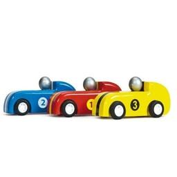 Le Toy Van Le Toy Van - 3 Voitures à Propulsion/3 Pullback Racers