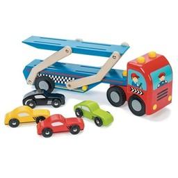 Le Toy Van Le Toy Van - Camion de Transport pour Voitures/Car Transporter Set