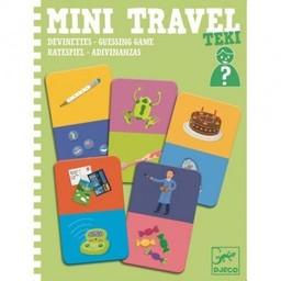 Djeco Djeco - Jeu de Devinettes Mini Travel Teki/Mini Travel Teki Guessing Game