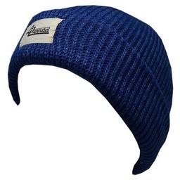 L&P L&P, New York - Tuque en Tricot Léger/Light Knit Hat, Bleu/Blue,