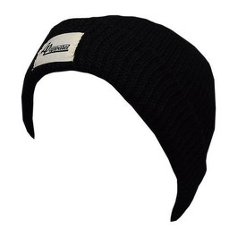 L&P L&P, New York - Tuque en Tricot Léger/Light Knit Hat, Noir/Black,