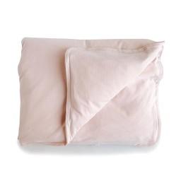 Bouton Jaune Bouton Jaune - Housse de Couette pour Lit de Bébé en Coton Organique/Organic Cotton Crib Duvet Cover, Rose Vintage/Vintage Pink