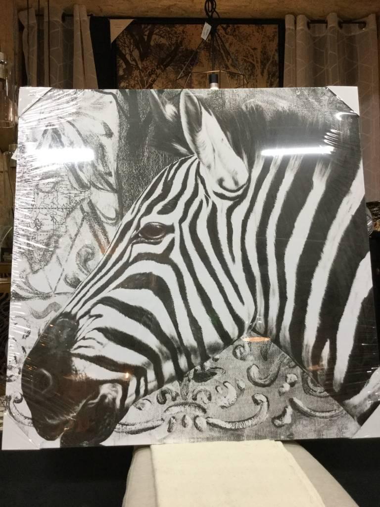 Attractive ZEBRA WALL ART