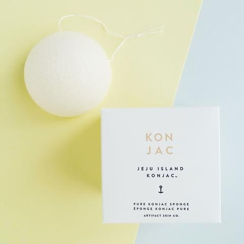 Artifact Skin Co. Pure Konjac Facial Sponge