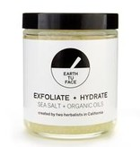 Earth Tu Face Sea Salt + Organic Oil Scrub