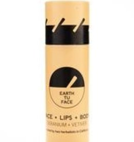 Earth Tu Face Skin Stick Geranium + Vetiver