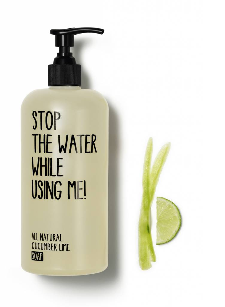 Stop The Water While Using Me Cucumber Lime Liquid Soap