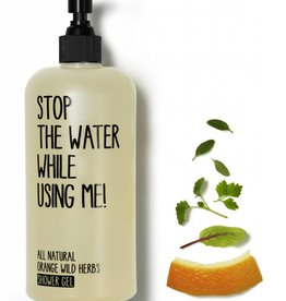 Stop The Water While Using Me Orange Wild Herbs Shower Gel