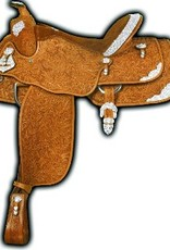"Alamo Saddlery Alamo Show Saddle Light Oil - 16""/Semi - Reg Price $2095 - $500 OFF!"