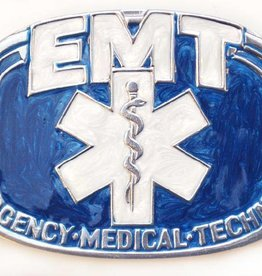 Western Express Belt Buckle: EMT