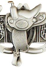 WEX Belt Buckle: Saddle & Horseshoe