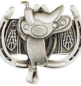 WEX Belt Buckle: Saddle & Horseshoe
