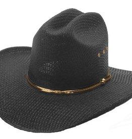 Western Express Black Stallion Straw Hat