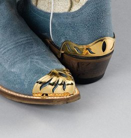 Western Express Boot Heel Guard - Brass