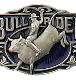 Western Express Bullrider Belt Buckle