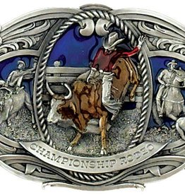 Western Express Championship Rodeo Belt Buckle
