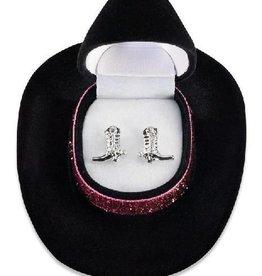 WEX Earrings - Cowboy Boot