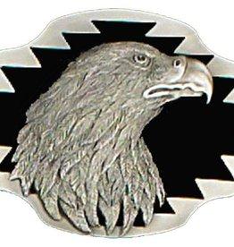 Western Express Eagle Head Belt Buckle