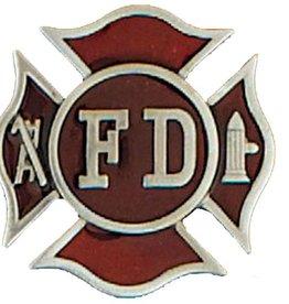 """Western Express Firefighter Belt Buckle FD 2"""" x 2"""
