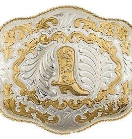 WEX German Silver Belt Buckle XL 6