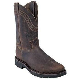 Justin Work Boots Men's Justin J-Max Crazyhorse Steel Toe