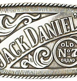 Western Express Jack Daniels Old No 7 Buckle Rectangle 4.25x2.50