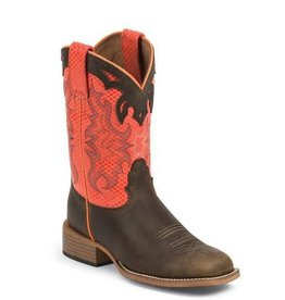 Justin Boots Children's Justin Brown Apache Bent Rail Boots