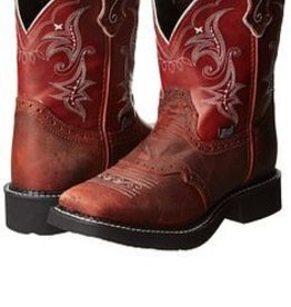 Justin Boots Women's Justin Gypsy Collection Boots Redwood (DISCONTINUED)