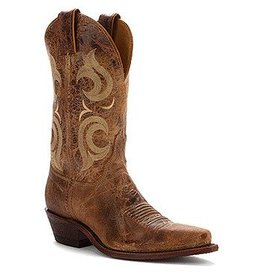 Justin Boots Women's Justin Cracked Brown Bent Rail Boots