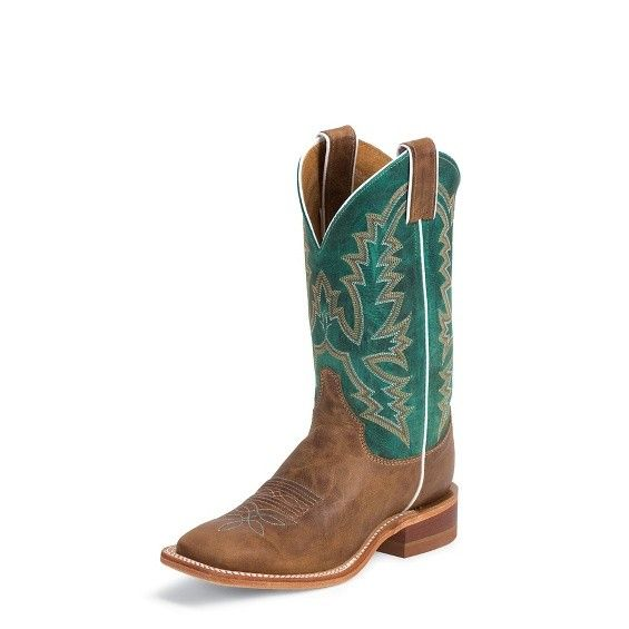 Justin Western Women's Justin Burnished Tan Bent Rail Boots
