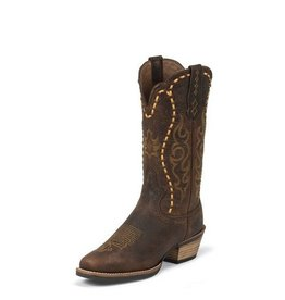 Justin Western Women's Justin Copper Buffalo Silver Collection Boots - Reg $179.95 now 25% OFF!