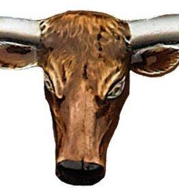 WEX Longhorn Steerhead Buckle Enamel 5.5 x 2