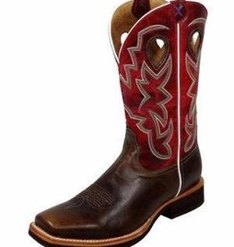 """Twisted X, Inc Men's Twisted X Horseman 12"""" Boots Oiled/Red 9.5D - Reg $189.95 @ 20% OFF!"""