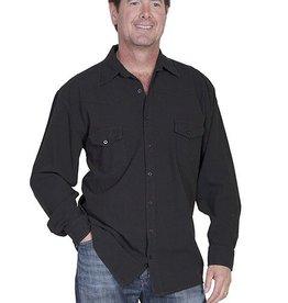 Scully Sportswear, INC Men's Scully Western Shirt Black