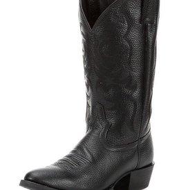 Justin Boots Men's Justin Black Deercow Stampede Western Boots