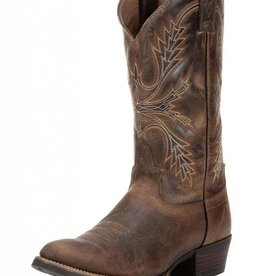 Justin Boots Men's Justin Antique Brown Silver Collection Boots