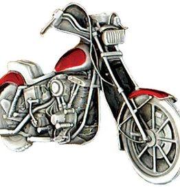 Western Express Motorcycle Chopper Belt Buckle  3-1/2x2-1/4