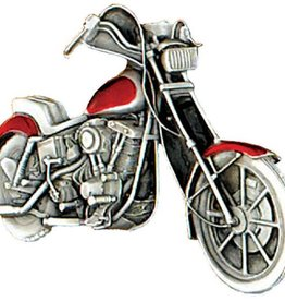 WEX Motorcycle Chopper Belt Buckle  3-1/2x2-1/4