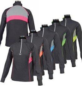 JPC Equestrian Neon Mock Zip Sport Shirt