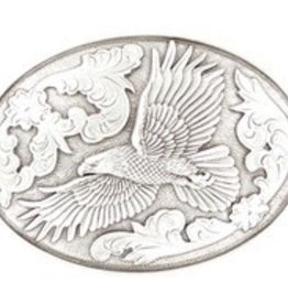 M & F Western Products Nocona Belt Buckle eagle Oval